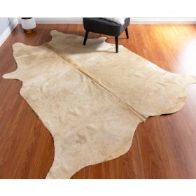 Champagne Cowhide Rug - CHR358